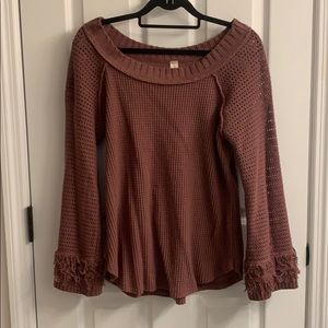 Altar'd State Knit Top